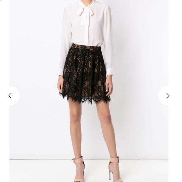 d1b2cb8564 Michael Kors Skirts | Michael Romantic Lace Skirt 6 | Poshmark